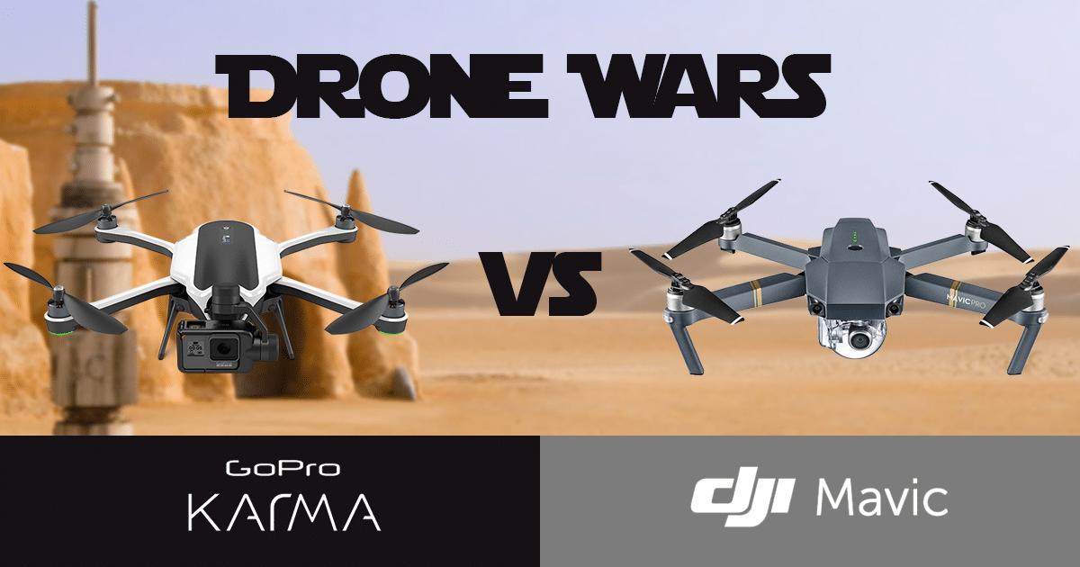 GoPro Karma vs DJI Mavic Pro