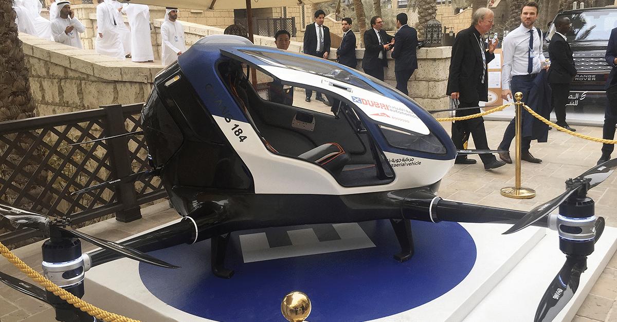 Dubai to launch a fleet of taxi drones